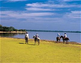 Balade à cheval au Pantanal Nord