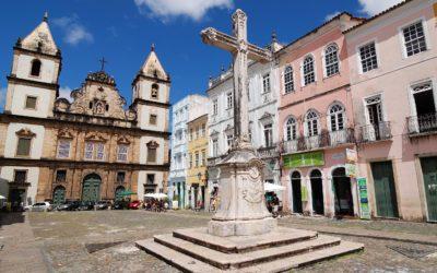 Visite du centre historique de Salvador de Bahia