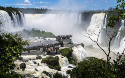 Visite des chutes côté Brésilien
