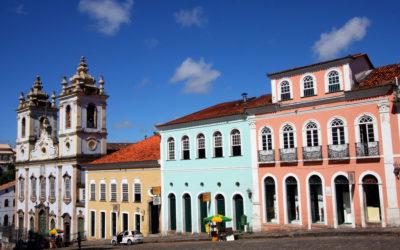 Tour panoramique de la ville basse de Salvador de Bahia